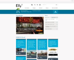 Eden's SharePoint Home Page – Elly