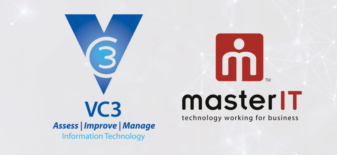 VC3 logo with the masterIT logo