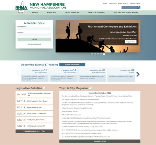 New Hampshire Municipal Association