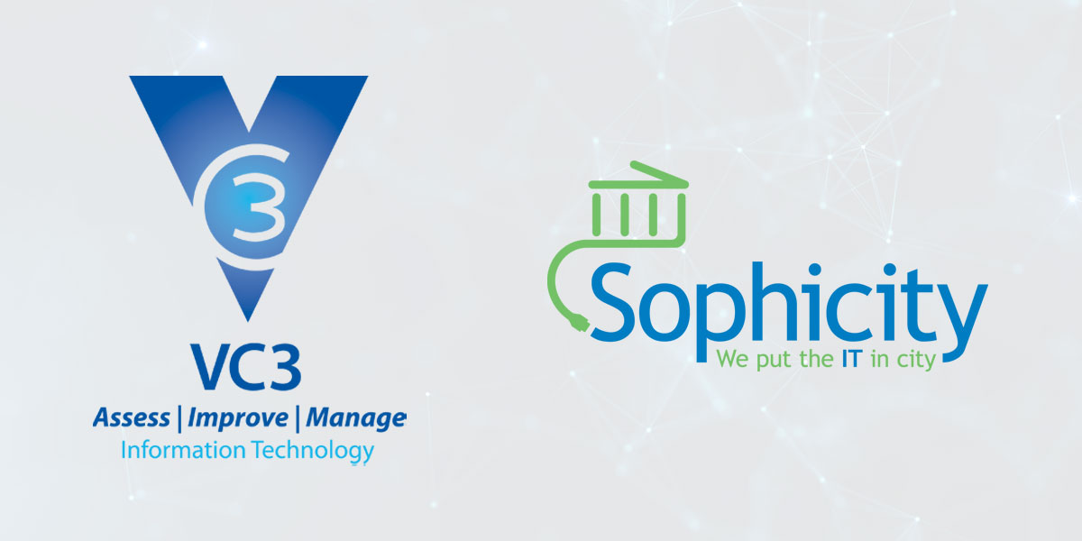 VC3 and Sophicity logos
