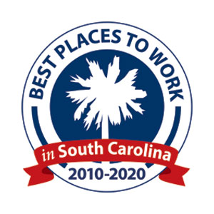 Best places to work in South Carolina logo