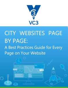 City websites page by page preview