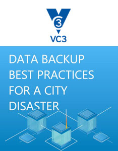 Data backup best practices for a city disaster preview
